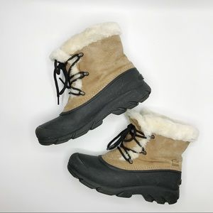 Sorel Snow Angel Lace Up Winter Snow Boots Size 8